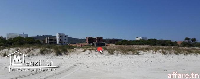 terrain route a la plage zahra 5miunte a pied