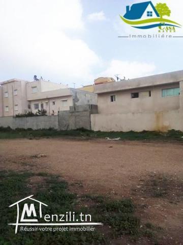 terrain de 163 m² à kélibia avec facilité de paiement