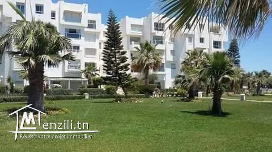 Appartement à louer résidence côte d'Azur à hammamet nord à côté d'hôtel royale az...