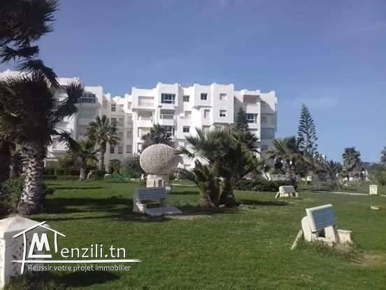 Appartement à louer résidence côte d'Azur à hammamet nord à côté d'hôtel royale azur