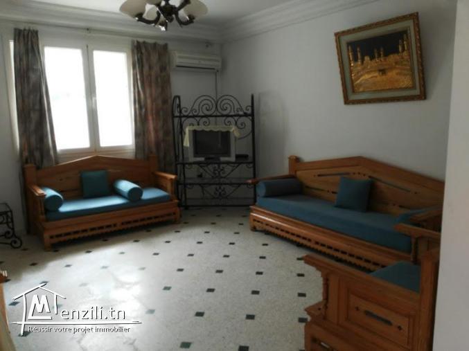 S+1 meublé centre ville Hammamet
