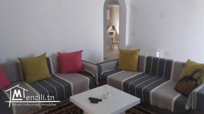 S+1 meublé à Hammamet Nord Mrezga