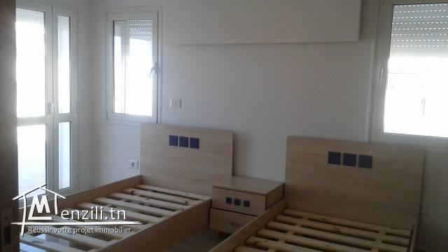 un magnifique appartement sur la route touristique hammam sousse