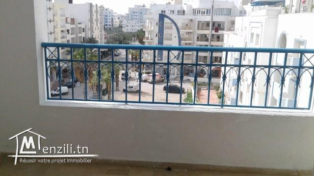 un joli appartement a Hammam SOUSSE dans une résidence pieds dans l'eau