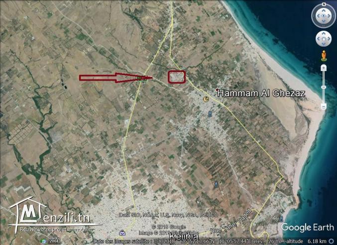 un terrain à vendre à hammem ghzez 50522361