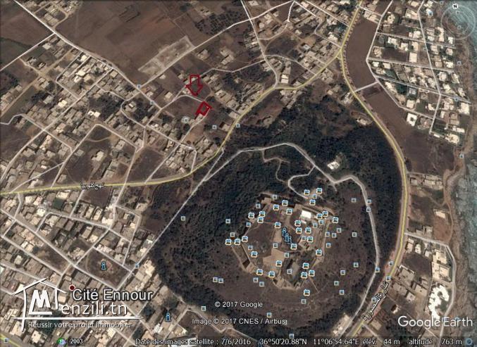 un terrain à vendre à kélibia borej 50522361