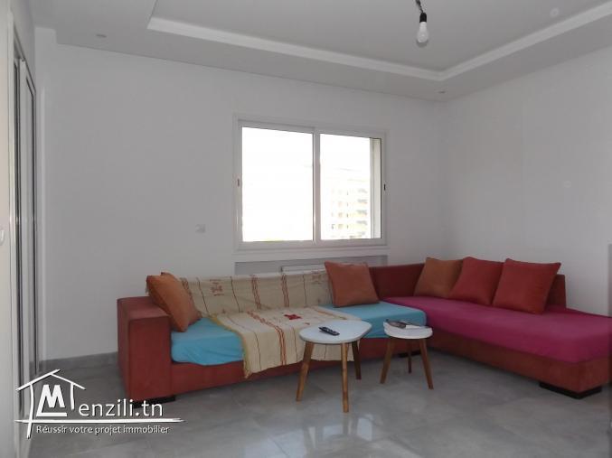 un spacieux S+1 richement meublé à AFH Mrezga