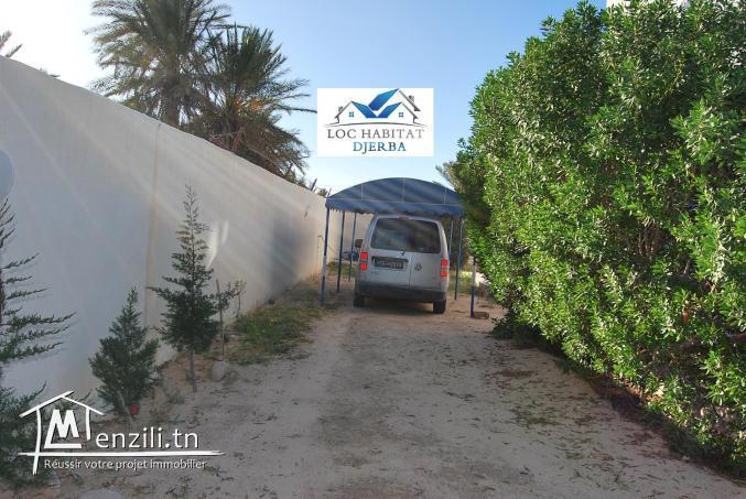 L41: LOCATION ANNUELLE D'UN ETAGE D'UNE VILLA EN Z.TOURISTIQUE MIDOUN DJERBA