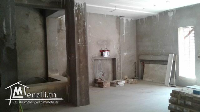 une magnifique villa inachevée à bouhcina a vendre