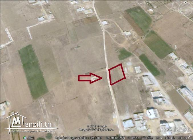 un terrain à vendre à kélibia mansoura pour plus d'info 50522361