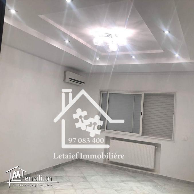 Appartement a khzema a louer