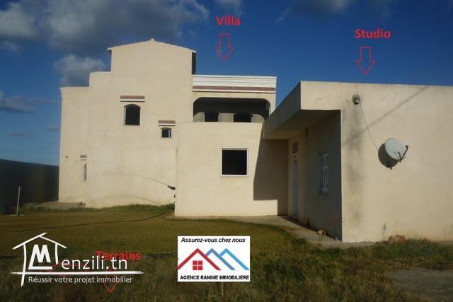 Grande villa ds 3403m2 a la mer d'el haouaria