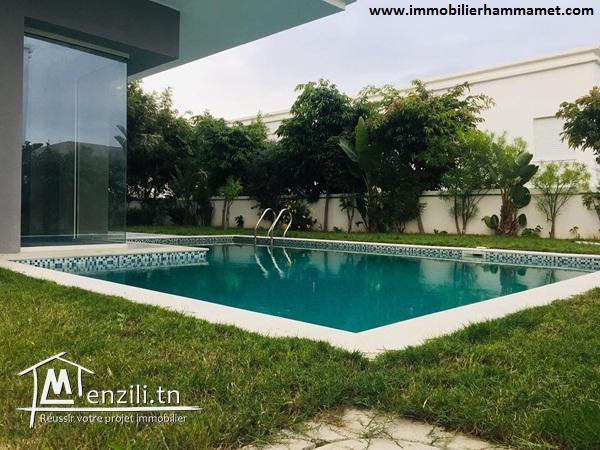 Villa Wiem à Hammamet Nord