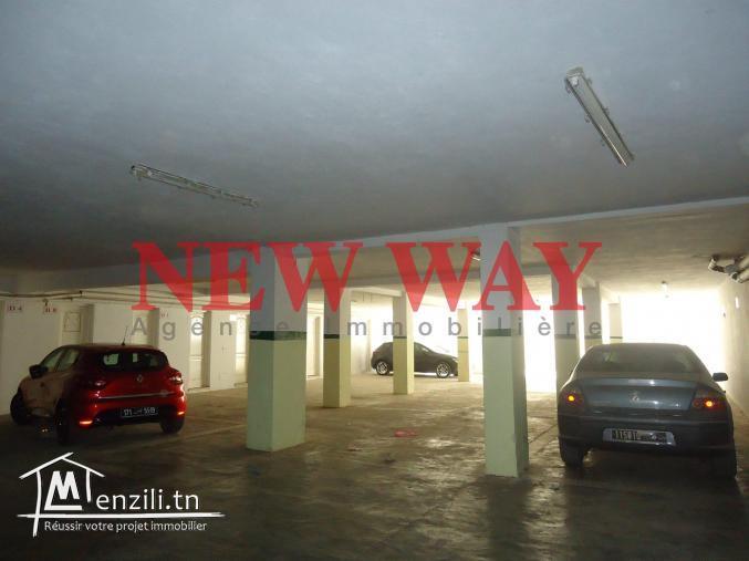 Appartement (S+2) à sahloul avec place de parking proche de toute commodité