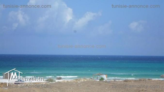 terrain 5minute a la plage zahra