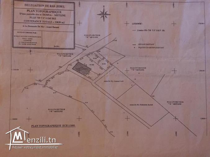 terrain de construction