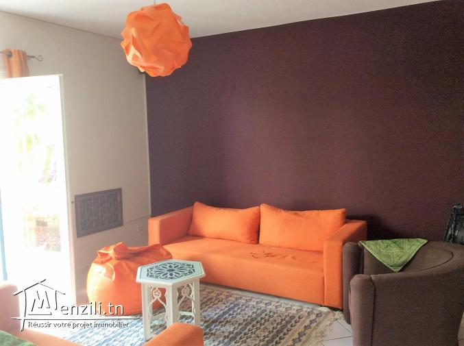 location d'un duplex au golden tulipe gammarth