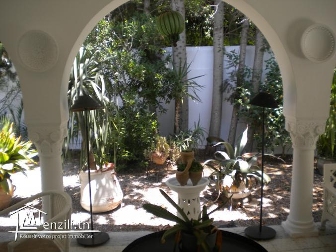 Une villa de 250 m² sur un terrain de 750 m² à 2000 MDT à Hammamet