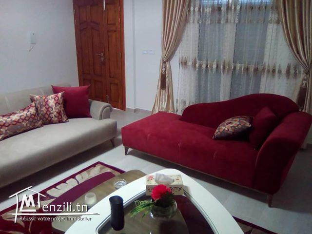Une villa à Hammamet Nord de 160 m² sur un terrain de 190 m² à 290 MDT