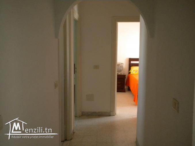 Un appartement de 100 m² à Hammamet nord à 250 MDT