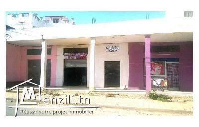 A vendre 3 grands commerces, centre ville de Boussalem
