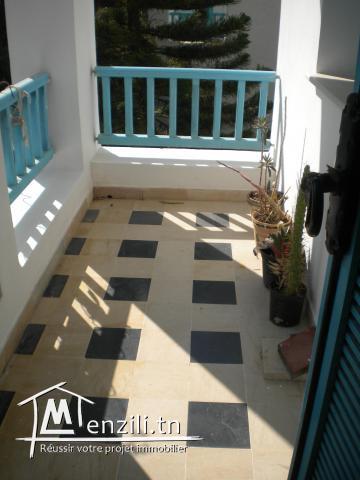 Un appartement à Yasmin Hammamet de 76 m² à 210.000 DT