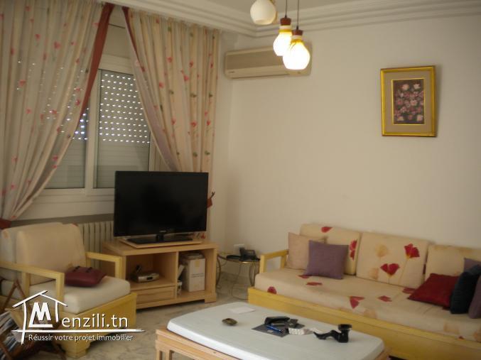 Un appartement pieds dans l'eau de 115 m² à 450 MDT à Hammamet Nord
