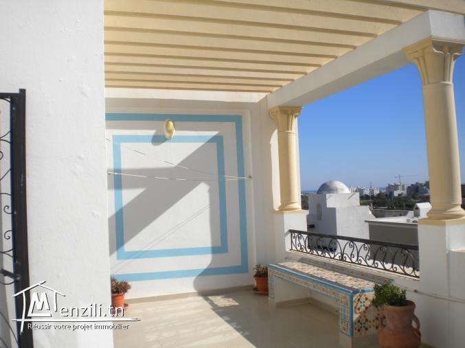 Un appartement de 120 m² à 180 MDT à Hammamet Nord
