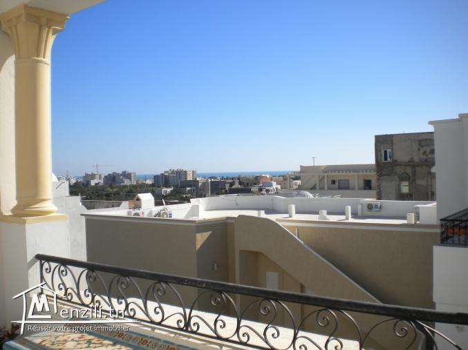 Un appartement de 145 m² à 210 MDT à Hammamet Nord