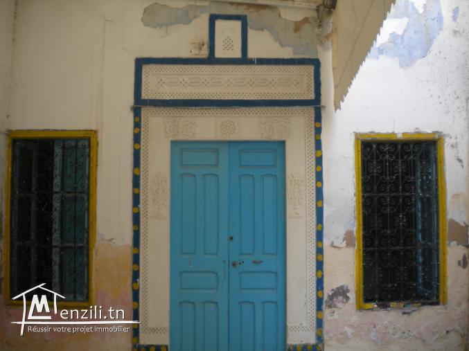 Une maison arabe à 250 MDT à Hammamet