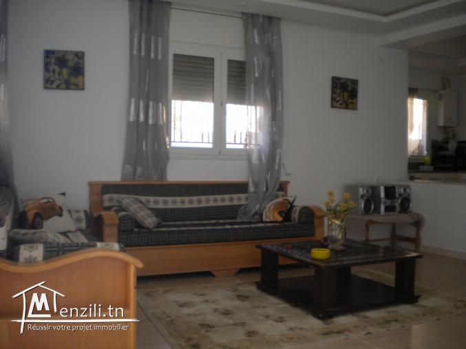 Une maisonnette de 100 m² sur un terrain de 160 m² à 270 MDT à Hammamet