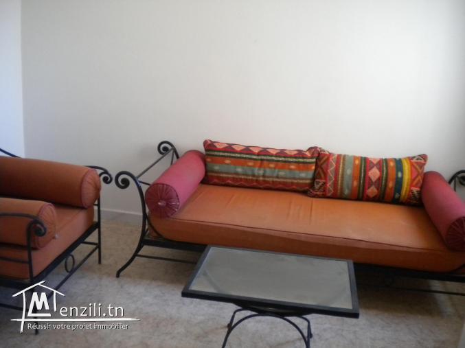Une maisonnette de 170 m² sur un terrain de 152 m² à 280.000 DT à Hammamet Nord