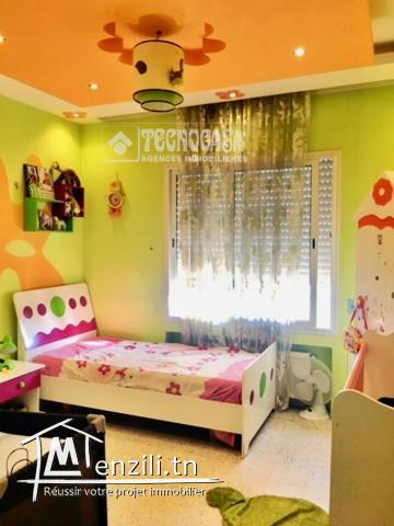 Location appartement s+3 à Hammem Chatt