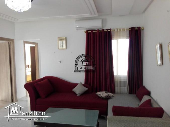 À louer appartement bien meublé haut standing à Monastir centre