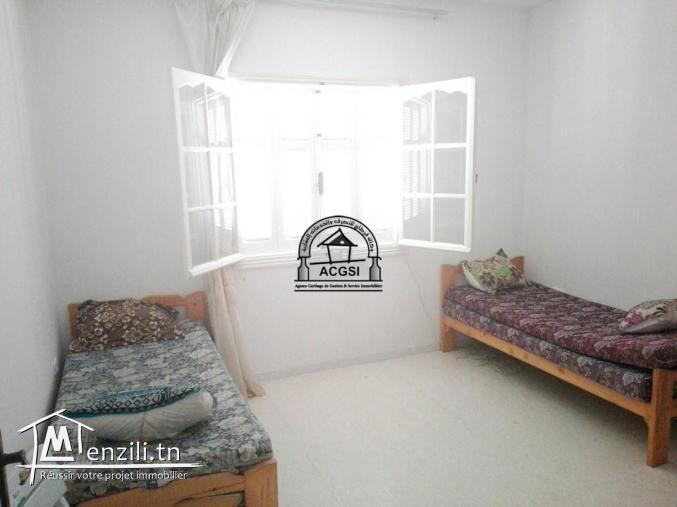 À louer cet appartement meublé à Monastir