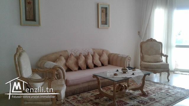 A louer à l'année un bel appartement bien meublé à Sousse