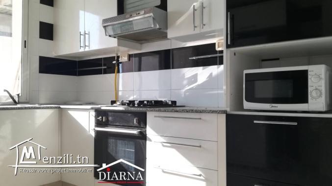 Appartement S+2 meublé très haut standing à Khzema