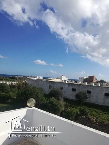 villa vue sur mer a la plage kerkouane