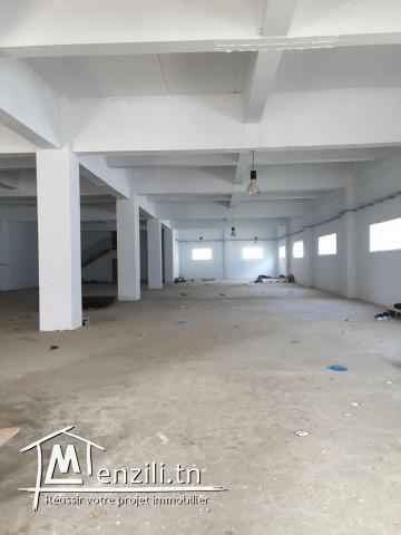 LOCAL INDUSTRIEL 2000 M2 TUNIS SUD