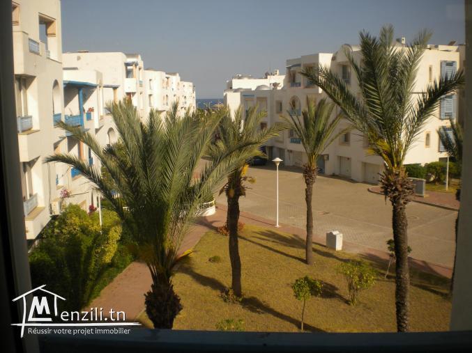 Un appartement de 67 m² à la Marina de Hammamet à 215 MDT