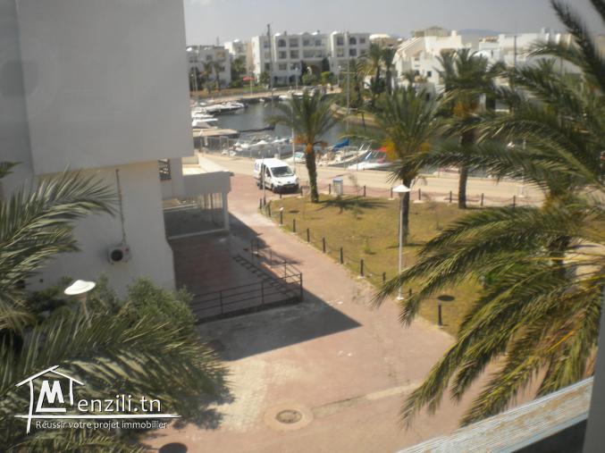 Un apparemment de 170 m² à 450.000 DT à La Marina de Hammamet