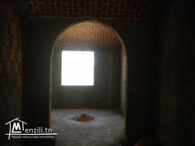 Un étage de villa (en cours de construction) à Hammamet Nord