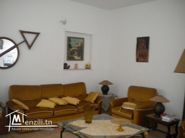Une villa à hammamet de 130 m² sur un terrain de 220 m² à 380 MDT