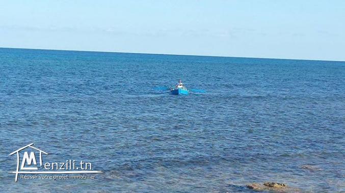 belle villa vue mer dans une zone calme