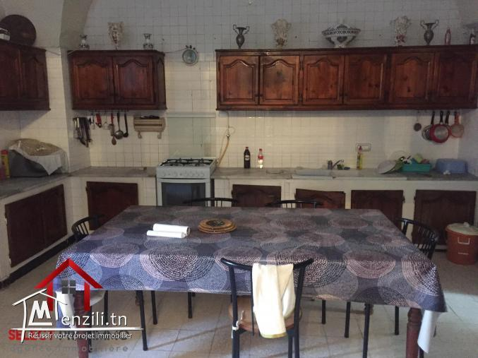 maison traditionnelle de 400 m² à Nabeul – NV2046