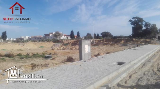 Terrain de 280 m² à Nabeul – Lot N° 019