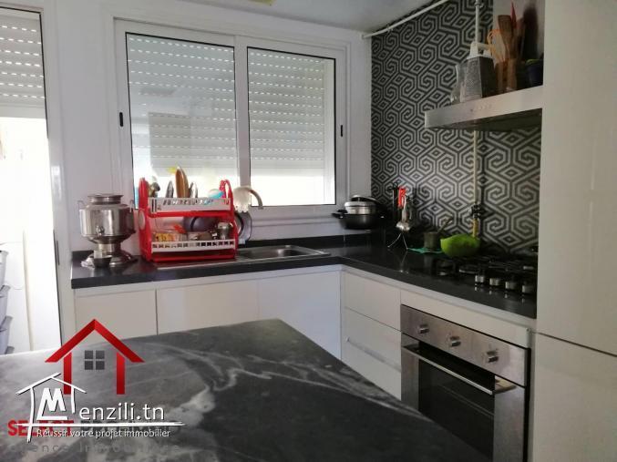 Appartement S+2 de 108 m² à Mrezgua - NV2048