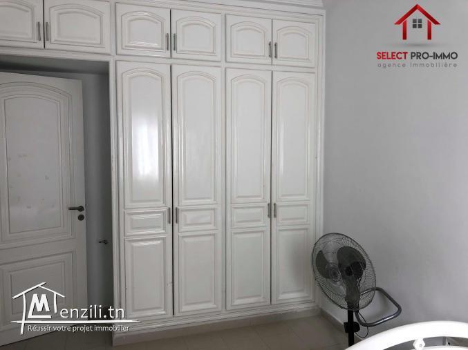 Appartement S+2 meublé à Lido Réf NLA093