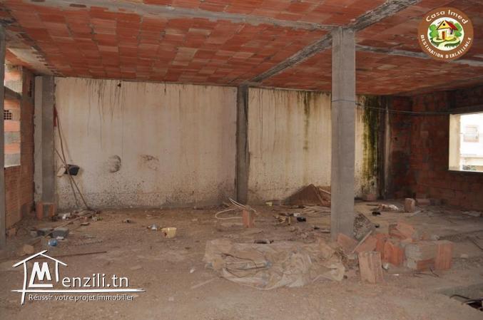 Maison inachevée à beni khiar