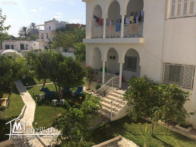 Deux étages de villa bâtis sur un terrain de 500 m² à 530 MDT à Hammamet Nord